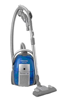 how to open electrolux oxygen vacuum